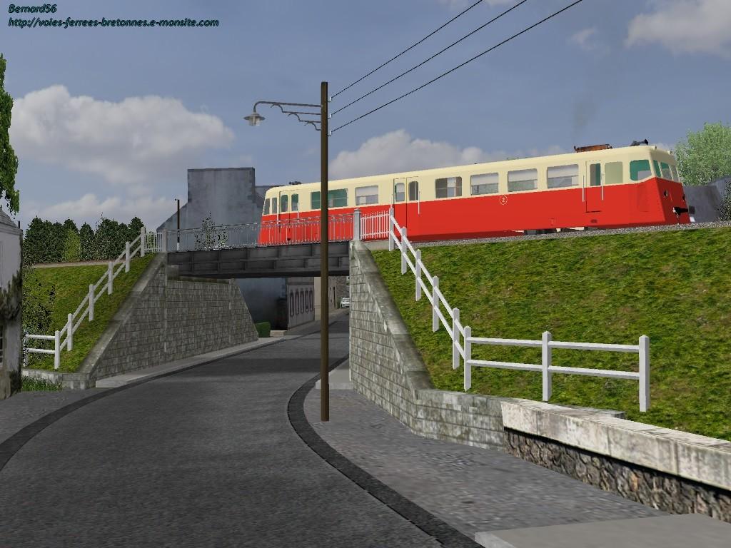 Carhaix Pont Entrée RN164