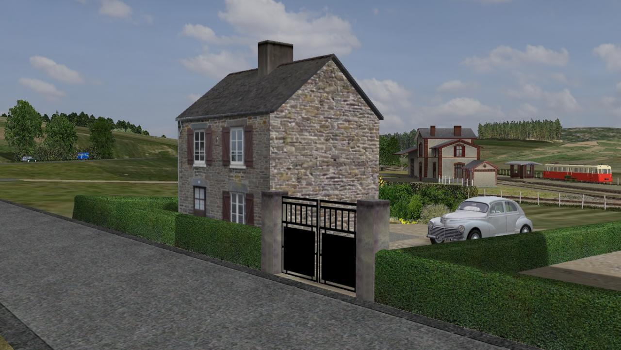 Maison Bretonne Gare HUELGOAT