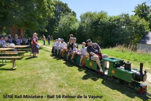 SÉNÉ Rail Miniature - Rail 56 Retour de la Vapeur